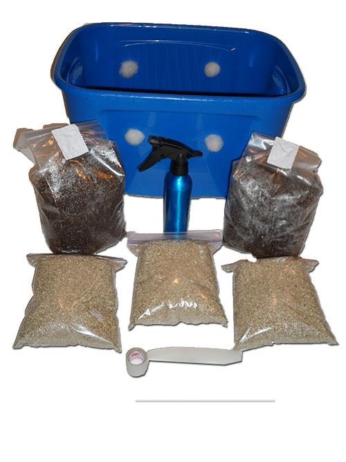 Premium Bulk Spawn Growing & Casing Kit